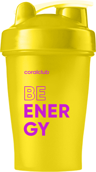 Шейкер Coral Club Be energy 400 мл