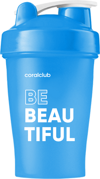 Шейкер Coral Club Be Beautiful 400 мл
