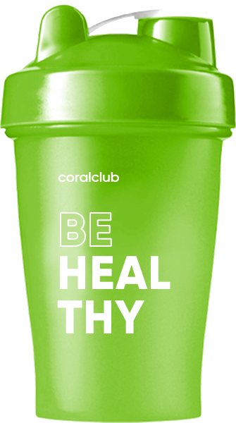 Шейкер Coral Club Be healthy 400 мл